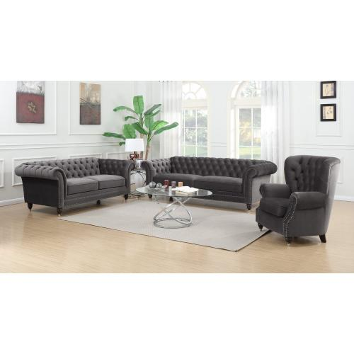 Emerald Home Capone Sofa Platinum U3545-00-13