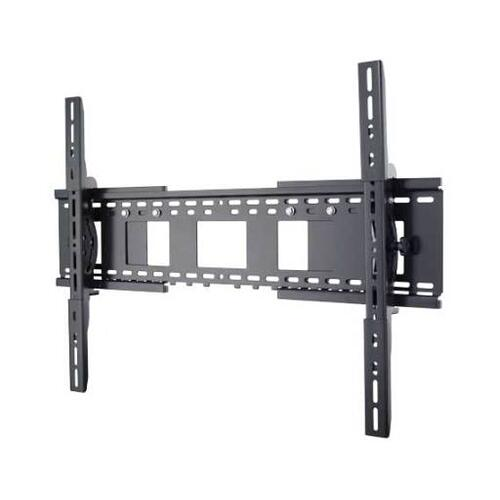 """Black Dual-Purpose Wall Mount offers choice of tilting or low-profile mount for 27"""" - 90"""" TVs"""