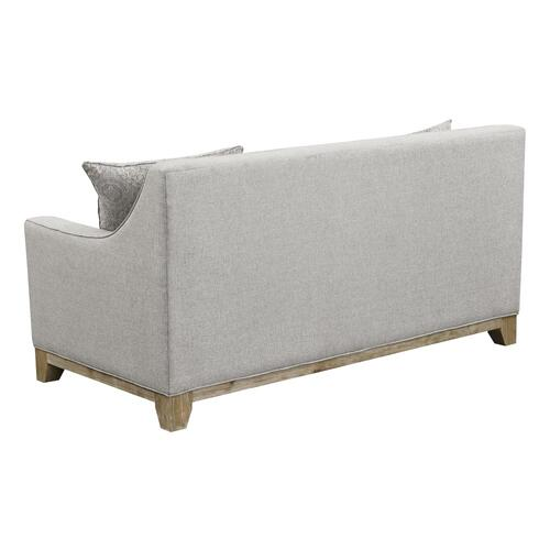 Emerald Home Loveseat W/ 4 Pillows U3670-01-13