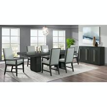 See Details - Donovan Dining Set - Table, 2 Arm Chairs, and 4 Side Chairs
