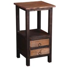 End Table (2 Drawers)