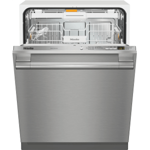 MieleG 4998 SCVi SF AM - Fully-integrated, full-size dishwasher with hidden control panel, cutlery tray and CleanTouch Steel panel