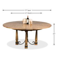 See Details - Hacienda Jupe Dining Table