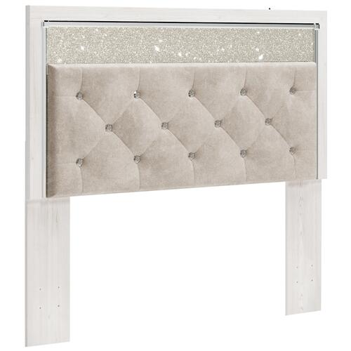 Signature Design By Ashley - Altyra Queenl Upholstered Panel Headboard