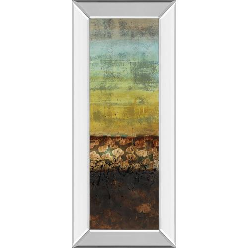 """Classy Art - """"Subterranean I"""" By Lanie Loreth Mirror Framed Print Wall Art"""