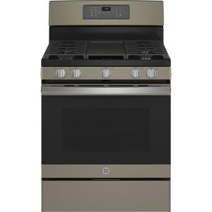 "GE® 30"" Free-Standing Gas Convection Range with No Preheat Air Fry Product Image"