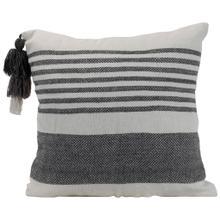 See Details - 18x18 Hand Woven Liz Pillow Gray
