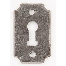 Product Image - Wrought Iron Keyhole Escutcheon