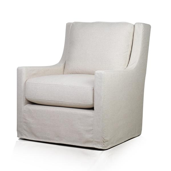 See Details - Myles Swivel Glider in Windfield Natural