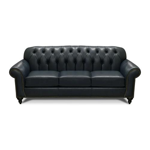 V8N5LSN Leather Sofa with Nails