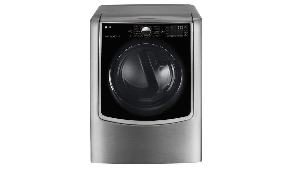 9.0 cu. ft. Large Smart wi-fi Enabled Electric Dryer w/ TurboSteam™ Photo #2