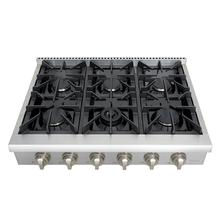 36 Inch Professional Gas Rangetop In Stainless Steel
