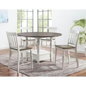 Joanna 5 Piece Drop-leaf Counter Set(Counter Table & 4 Counter Chairs)