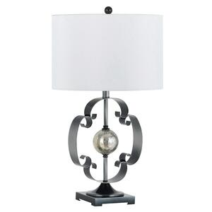 Cal Lighting & Accessories - 150W 3-WAY LUGANO METAL/IRON TABLE LAMP