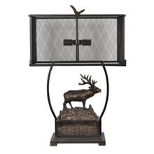 See Details - Edison Elk Table Lamp
