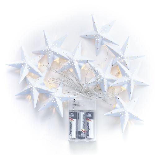 6ft Star LED String Lights
