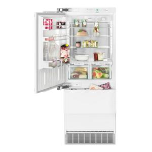 Liebherr Combined refrigerator-freezer with BioFresh and NoFrost for integrated use