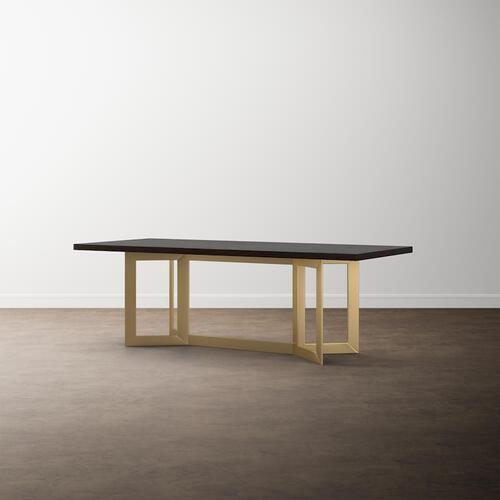 "MODERN with Bench*Made 90"" Oak Astor Table"