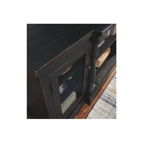 Mallacar XL TV Stand Black