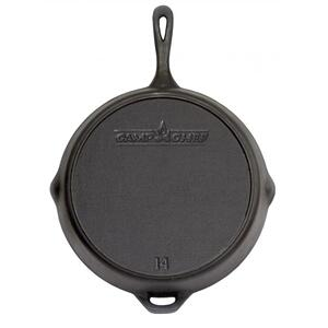 "14"" Seasoned Cast Iron Skillet"