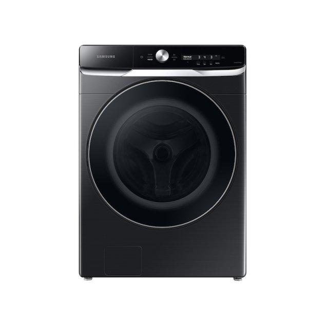 Samsung Appliances 5.0 cu. ft. Extra-Large Capacity Smart Dial Front Load Washer with OptiWash™ in Brushed Black