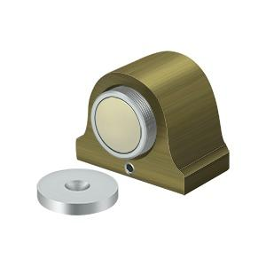 Magnetic Dome Stop - Antique Brass