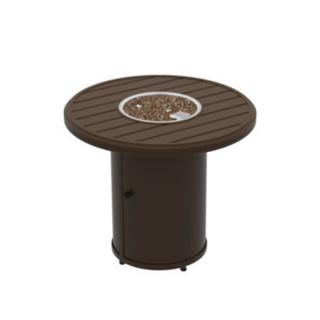 """See Details - Banchetto 30"""" Round Fire Pit, Manual Ignition"""