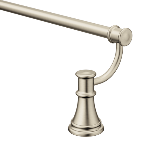 "Belfield brushed nickel 24"" towel bar"