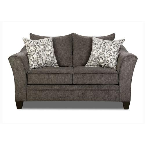 6485 Albany Pewter Loveseat Only