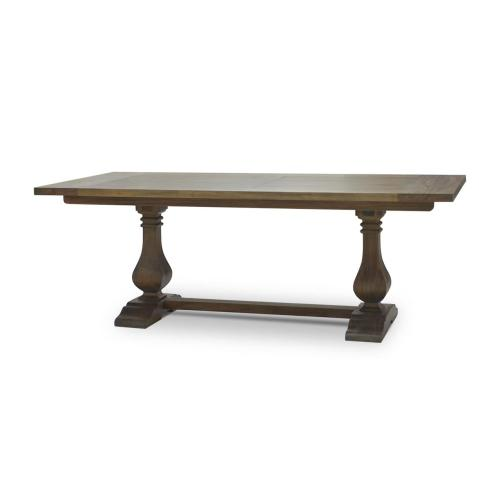 Trestle Dining Table 84''