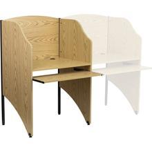 See Details - Starter Study Carrel in Oak Finish