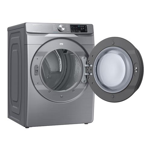 7.5 cu. ft. Gas Dryer with Steam Sanitize+ in Platinum