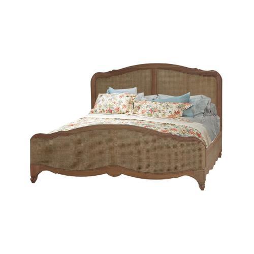 Covington Rattan Bed King