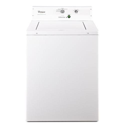 """Whirlpool® 27"""" Top-Load Commercial Washer, Non-Metered - White"""