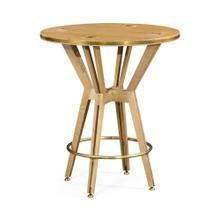 "See Details - 36"" Architectural Circular Bar Table"