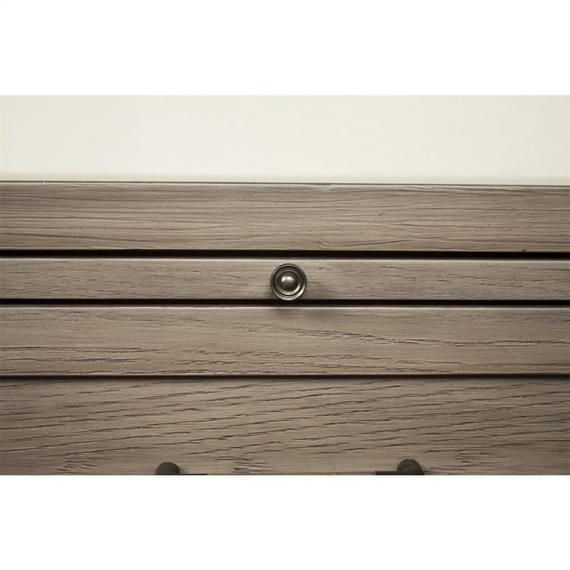 Riverside - Vogue - One Drawer Nightstand - Gray Wash Finish
