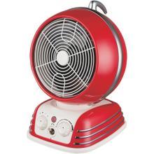 Retro Oscillating Fan Heater