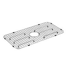 "Moen Stainless Steel Center Drain Bottom Grid Accessory fits 29"" x 16"" Sink Bowls"