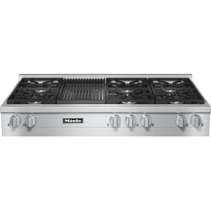 KMR 1355-1 G - RangeTop with 6 burners and grill for versatility and performance