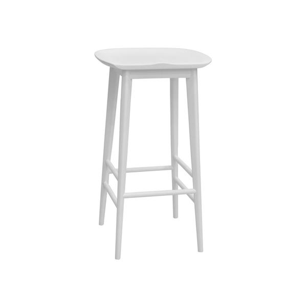 Hilton Counter Stool, White