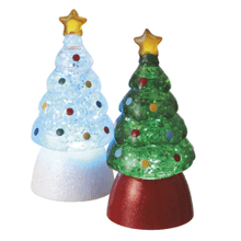 Lighted LED Tree Mini Shimmers (2 asstd)