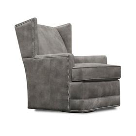 4769ALN Olive Swivel Chair with Nails