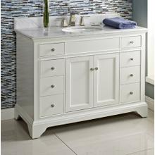 """See Details - Framingham 48"""" Vanity - Polar White"""