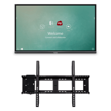 """See Details - 75"""" ViewBoard® Interactive Flat Panel Education Bundle with Wall Mount"""
