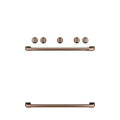 Cafe - Café™ Freestanding Gas Knobs and Handles - Brushed Copper