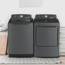 View Product - TOP-LOAD WASHER DRYER SET Washer 4.5 & Dryer 7.5 CU. FT. CAPACITY (Electric) FINISH: Grey