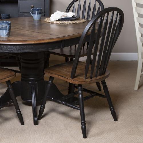 Windsor Side Chair- Black