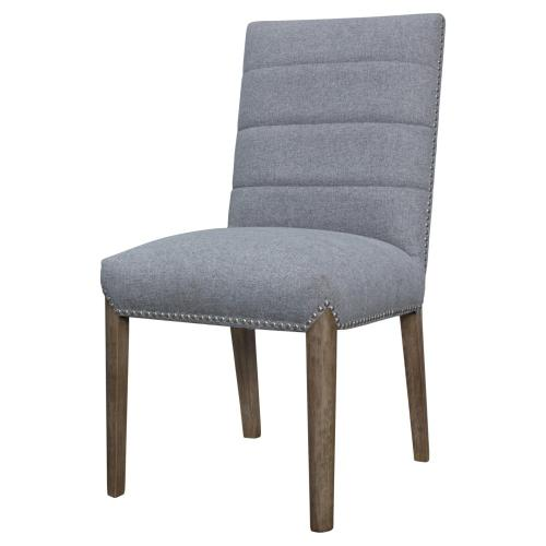 Product Image - Alfred Fabric Dining Side Chair Natural Drift Legs, Havana Gray