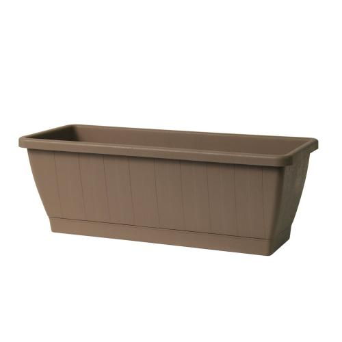 Kezar Plant Box w/att oblong tray, Large (Greener)