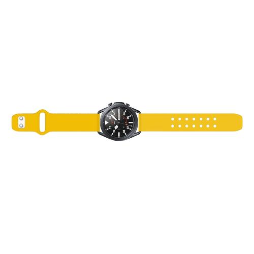 Quick Change Silicone Sport Watch Band (22mm) Yellow